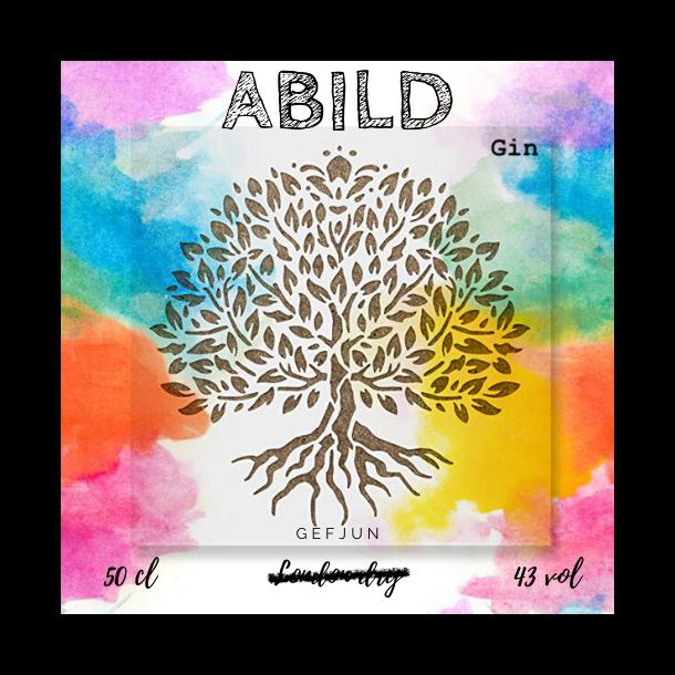 Abild Gin i Gaveæske